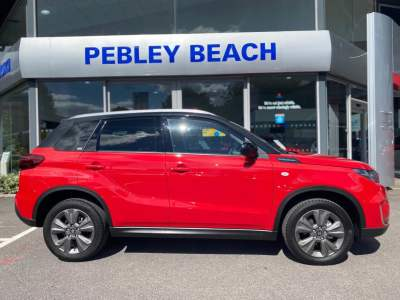 Suzuki Vitara 1.4 Hybrid SZ-T Estate Petrol Bright Red Dual Tone at Pebley Beach Cirencester