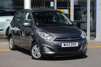 Hyundai i10 1.2 Style Hatchback Petrol Carbon greyHyundai i10 1.2 Style Hatchback Petrol Carbon grey at Pebley Beach Swindon