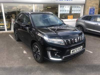 Suzuki Vitara 1.4 Hybrid SZ-5 Estate Petrol Cosmic Black Pearl Metallic at Pebley Beach Cirencester
