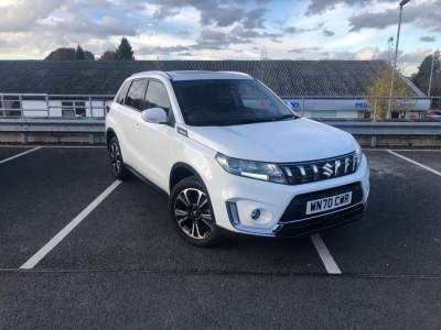 Suzuki Vitara 1.4 Hybrid SZ-5 Allgrip Estate Petrol Superior White at Pebley Beach Cirencester
