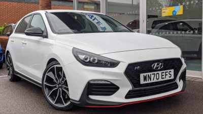 Hyundai i30 N Performance 275 2.0 T-GDi Manual 5 Door Hatchback / Fastback Petrol Polar White at Pebley Beach Cirencester