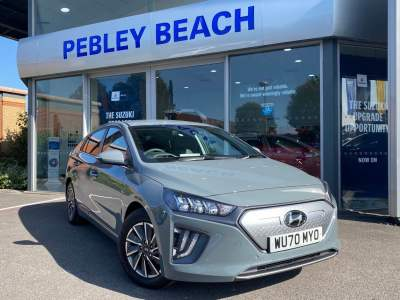 Hyundai Ioniq 1.6 Electric Premium SE 38.3 kWh MY20 5 Door Hatchback / Fastback Hybrid Electric Shadow at Pebley Beach Cirencester