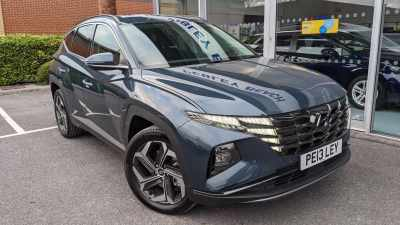 Hyundai Tucson 1.6 Premium T-Gdi Hev Estate Hybrid Blue at Pebley Beach Cirencester