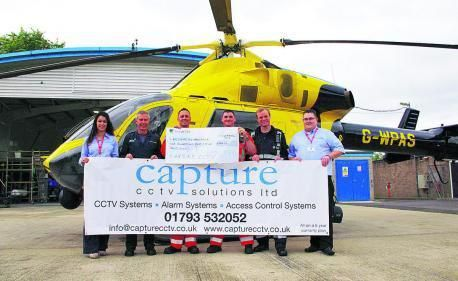CCTV firm captures cash for air ambulance