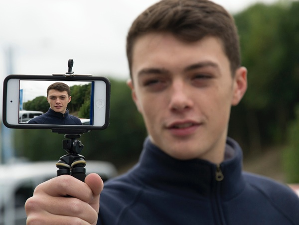 Video selfie is the key to a career at Pebley Beach