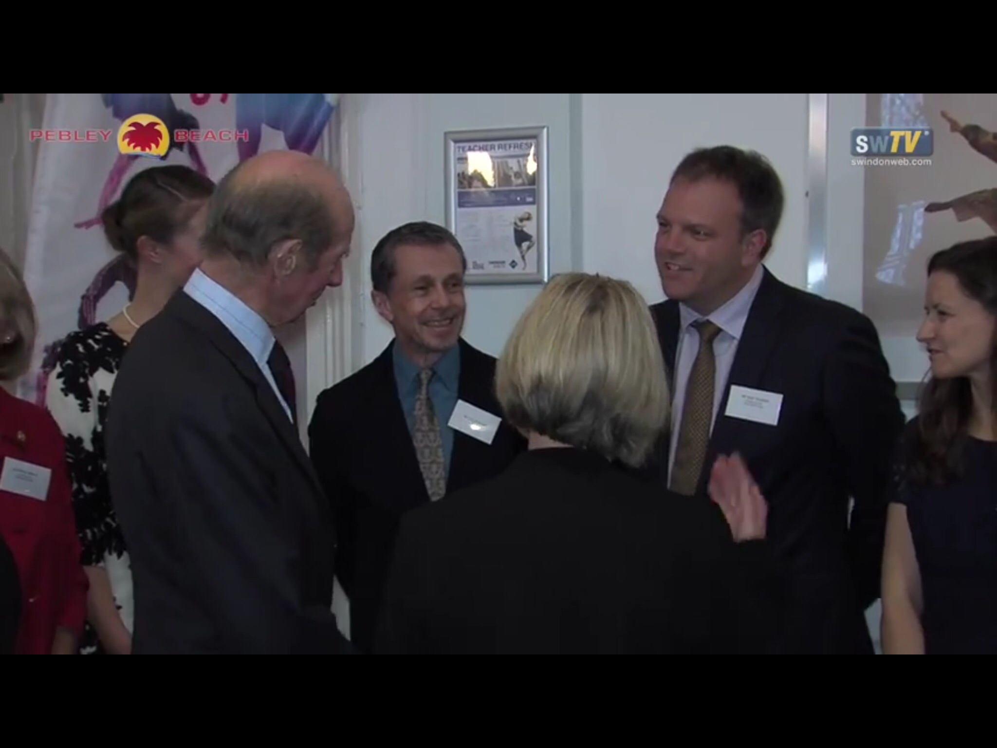 As a supporter of Swindon Dance I was invited to meet HRH Duke of Kent