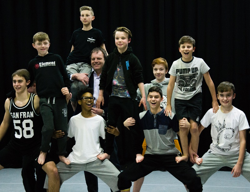 Pebley Beach drives boys dance initiative