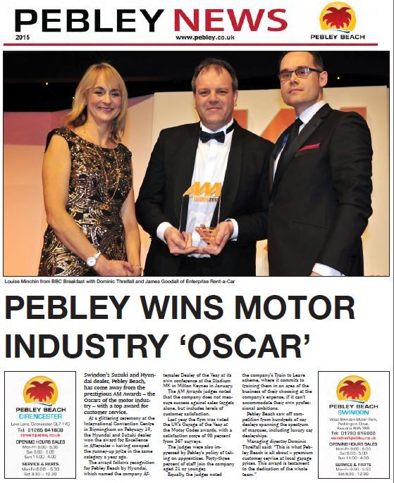 Get your latest version of Pebley News 2015