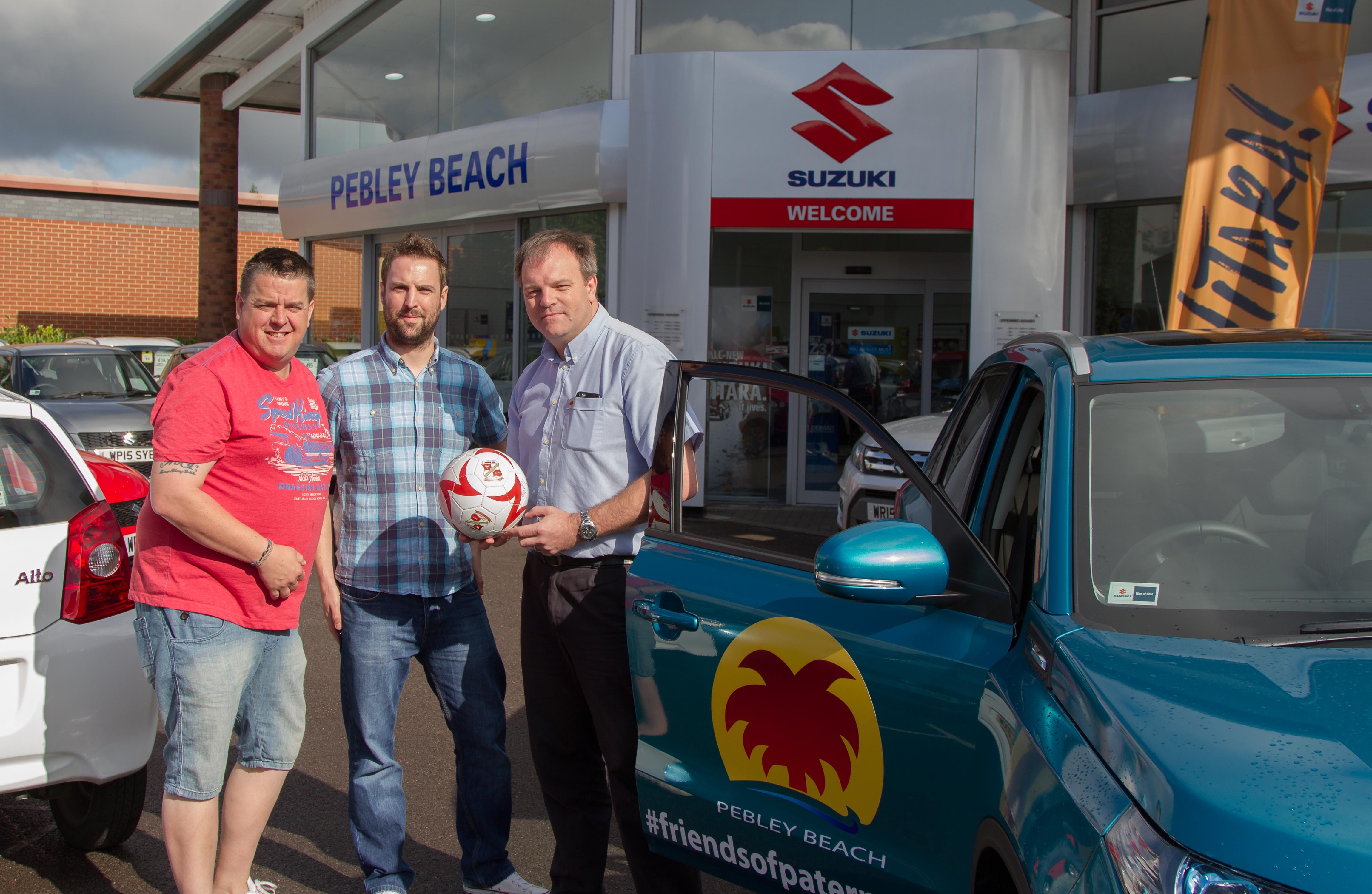 Soccer-mad family Do The 92 in  Suzuki from Pebley Beach