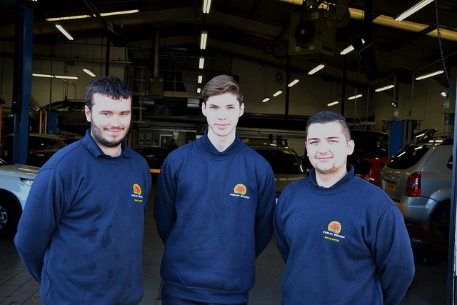 A clutch of new apprentices at Pebley Beach
