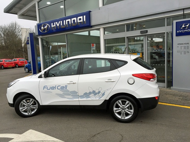 Hyundai dealership Pebley Beach celebrates as hydrogen records are smashed