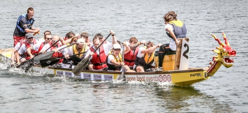 Pebley Beach confirmed as sponsor of Swindon Dragon Boat Race