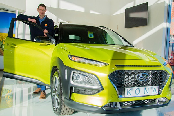 All-new Hyundai Kona arrives at Pebley Beach
