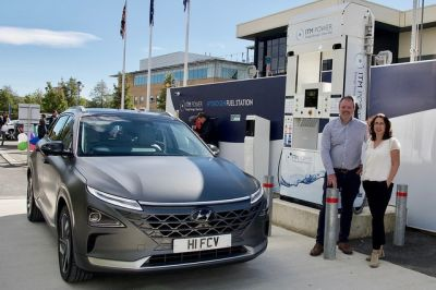 Swindon business leaders get first glance of new hydrogen-powered Hyundai