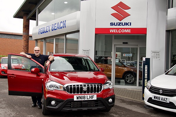 Celebrations at Pebley Beach as Suzuki is named Most Reliable Brand