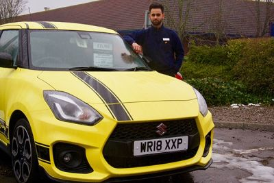 Salesman buys car from rival brand and lands job with dealership