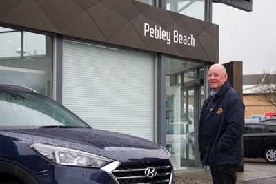 How's that for a service? Employee clocks up 20 years with Pebley Beach