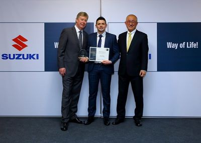 Motor technician named Suzuki Apprentice of the Year
