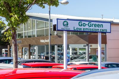 Pebley Beach launches green car site