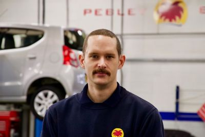 Motor technician returns to firm to head department he joined as apprentice 15 years ago