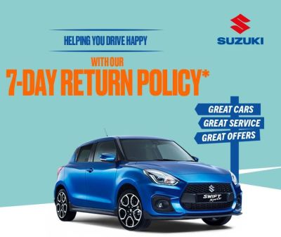 Suzuki 7 Day Returns