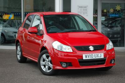 Suzuki SX4 1.6 Aerio 5dr Hatchback Petrol RedSuzuki SX4 1.6 Aerio 5dr Hatchback Petrol Red at Pebley Beach Swindon