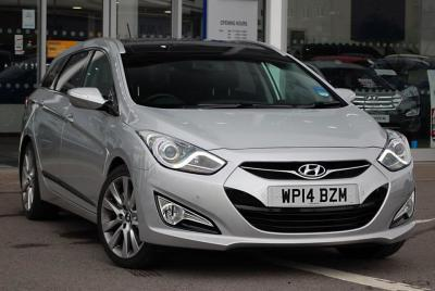 Hyundai I40 1.7 CRDi 136PS Premium Tourer Diesel Sleek SilverHyundai I40 1.7 CRDi 136PS Premium Tourer Diesel Sleek Silver at Pebley Beach Swindon