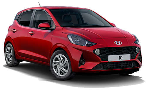Hyundai I10 - Available In Dragon Red