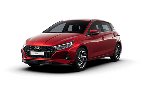 Hyundai I20 - Available In Dragon Red