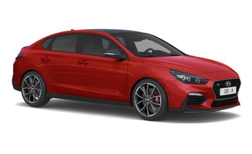 Hyundai I30 Fastback N - Available In Engine Red