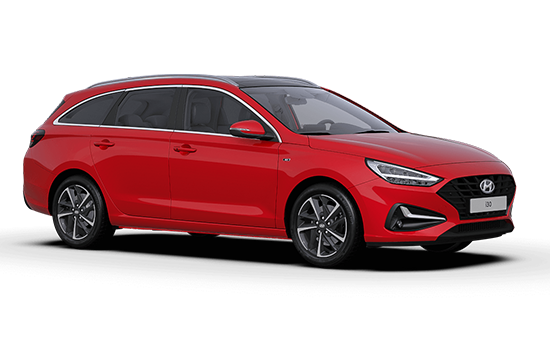 Hyundai I30 Tourer - Available In Engine Red