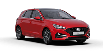 hyundai i30 - Available in Engine Red