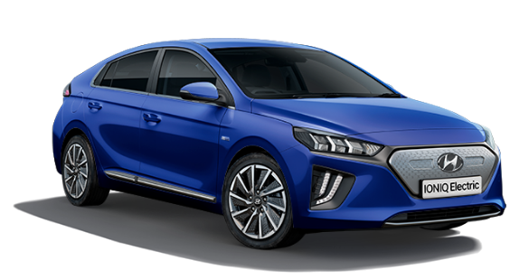 Hyundai Ioniq Electric - Available In Marina Blue