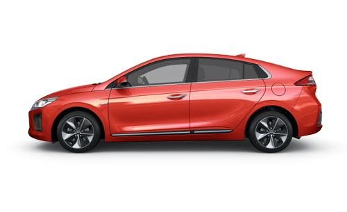 Hyundai Ioniq Electric - Available In Phoenix Orange