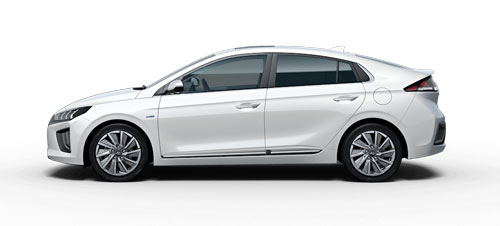 Hyundai Ioniq Electric - Available In Polar White