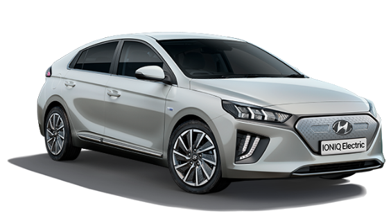Hyundai Ioniq Electric - Available In Platinum Silver