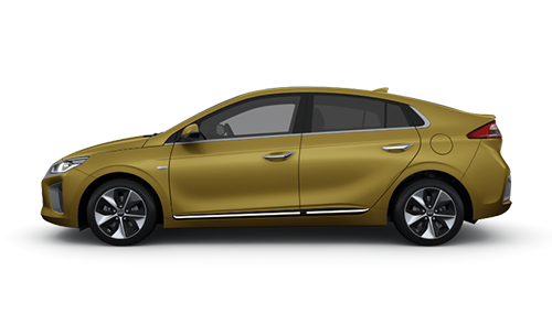 Hyundai Ioniq Electric - Available In Blazing Yellow