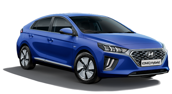 Hyundai Ioniq Hybrid - Available In Marina Blue