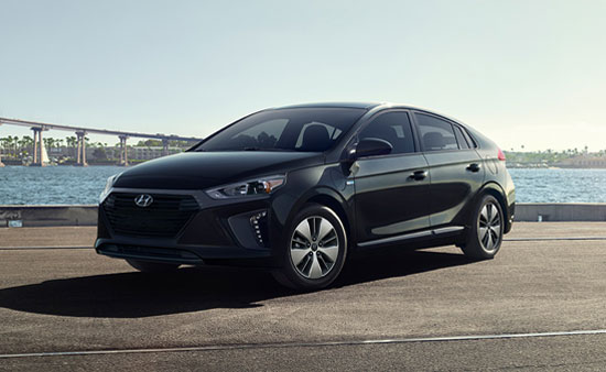 Hyundai Ioniq - Available In Black Noir Pearl