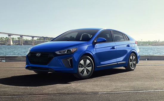 Hyundai Ioniq - Available In Electric Blue Metallic