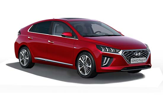 hyundai ioniq - Available in Fiery Red