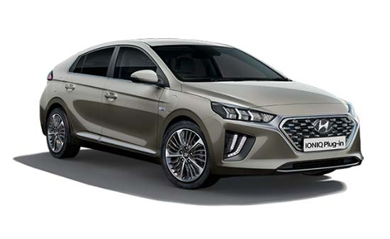 hyundai ioniq - Available in Fluidic Metal