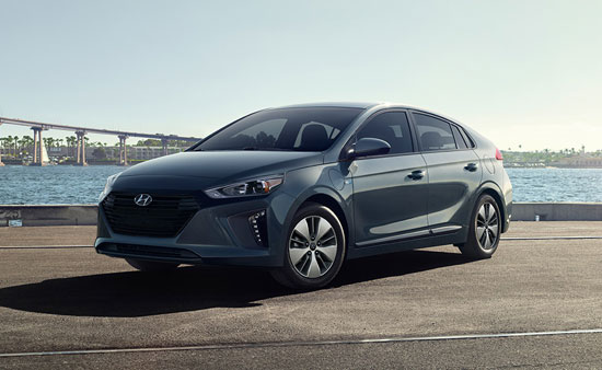 Hyundai Ioniq - Available In Summit Gray