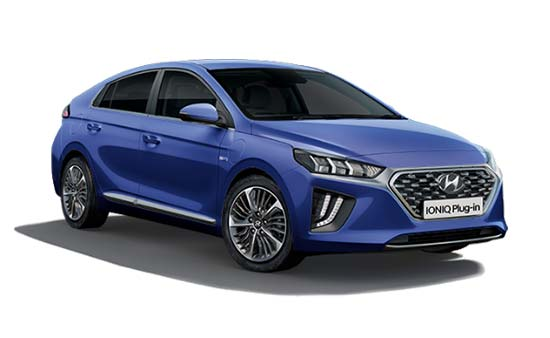 hyundai ioniq - Available in Intense Blue