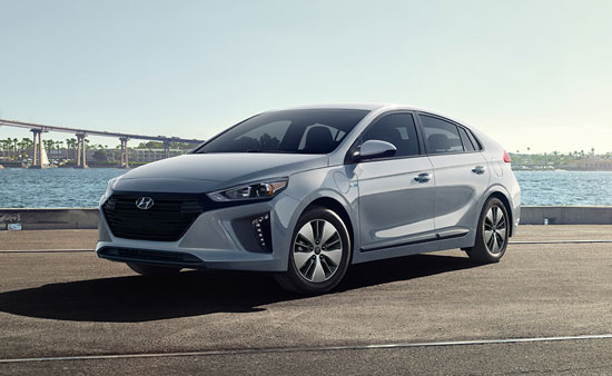 Hyundai Ioniq - Available In Symphony Air Silver