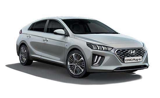 Hyundai Ioniq - Available In Typhoon Silver
