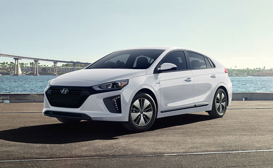 Hyundai Ioniq - Available In Ceramic White