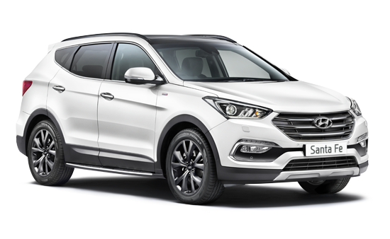 Hyundai Santa Fe - Available In White Crystal