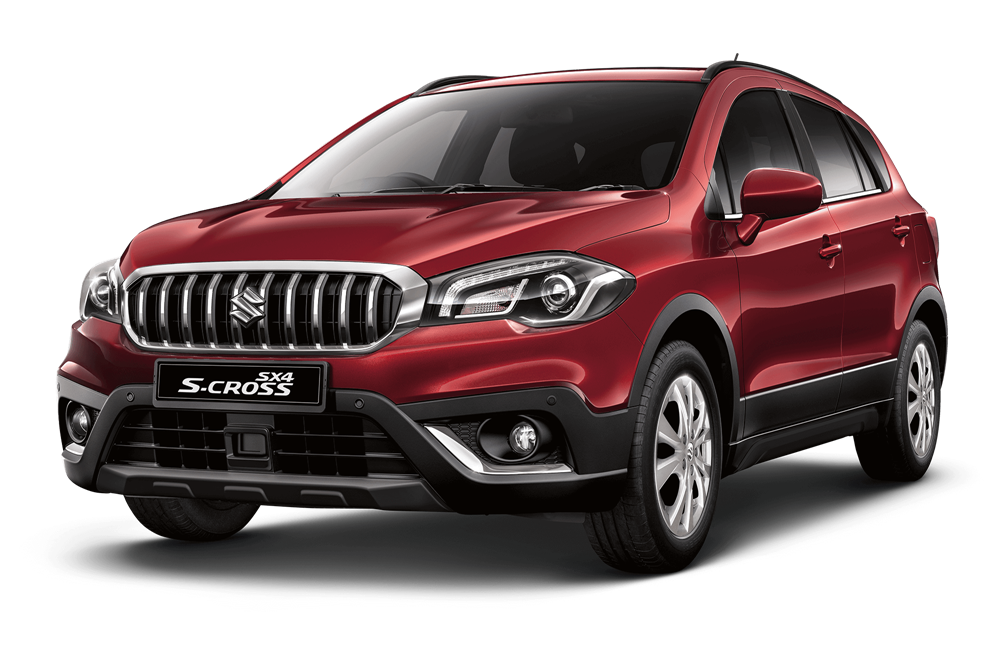 Suzuki S Cross - Available In Energetic Red