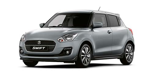 Suzuki Swift Attitude - Available In Premium Silver Metallic